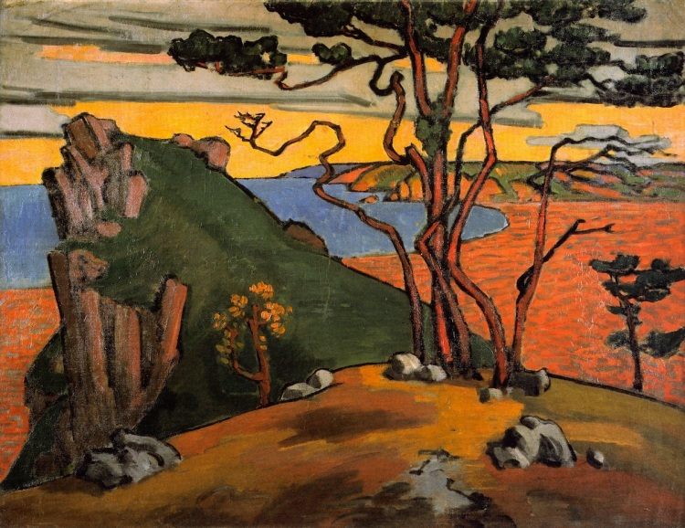 Black Sea Coast by Roger Fry